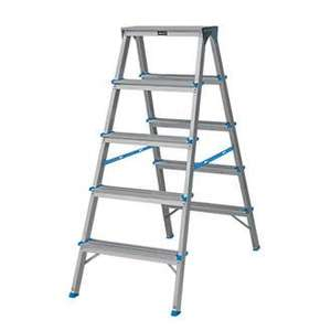 Double-Sided Ladder Aluminium @ Screwfix £39.99 down to £26.49
