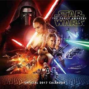 Star Wars Official 2017 Calendar just £1.25 IN-STORE at Tesco!!