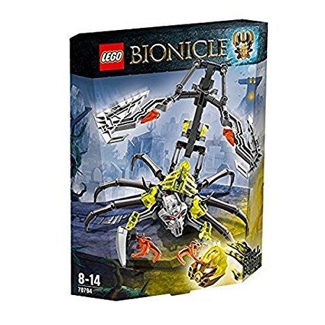 LEGO Bionicle 70794 Skull Scorpio Action Figure £6.50 Prime or £10.49 non prime @ Amazon