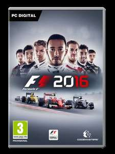 [Steam] F1 2016 / DiRT Rally - £12.30 Each - IndieGala