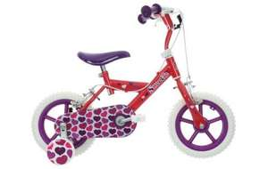 """Upto half price kids bikes and 10% extra on top with code eg 12"""" Urchin or Sweetie bike was £50 now £33.20, Apollo Firechief and Cupcake were £120 now £54, Balance bike was £39.99 now £27 @ Halfords"""