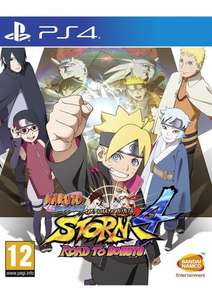 Naruto Shippuden: Ultimate Ninja Storm 4 - Road to Boruto, Pre-order for PS4 / Xbox One £32.85 @ SimplyGames