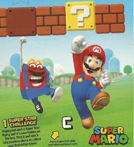 Mario Toys Free with Happy Meals £2.49 @ McDonalds (From 11th January - 7th February)