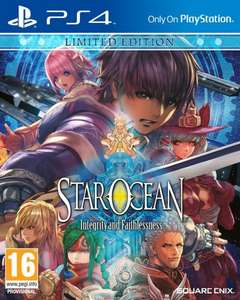 Star Ocean: Integrity and Faithlessness Limited Edition (PS4) £15.99 Prime Only @ Amazon (& GAME)
