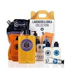 L'Occitane Lavender and Shea comforting gift set was £44.50 now £26 & Gift of Wellbeing giftset was £27 now £18.90 delivered @ Debenhams