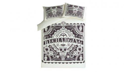 Sugar Skull Double Duvet Set £7.50 George Asda