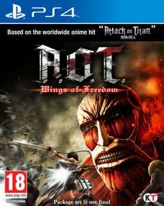 Attack on Titan (A.O.T) Wings of Freedom PS4/XB1 £26.99 @ Zavvi