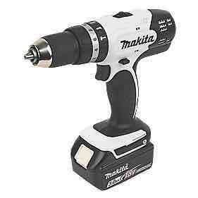 Makita DHP453 18v LXT Combi Drill, 2 x 3.0Ah Batteries, Charger & Case Was £149.99 NOW £129.99 @ Screwfix