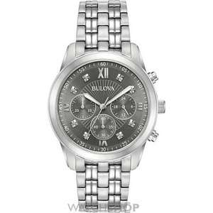 Watchshop Bulova Chronograph Watch £99.00 (use Voucher Code WSSALE10 to reduce further to £89.10) from £359