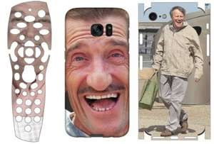 Personalised Phone or Sky remote Skins for £2.50 p&p / Personalised  Phone cases £7.94 delivered @ Wrappz (Using codes)