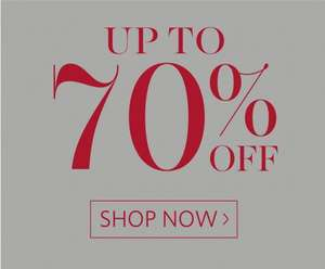 Clintons up to 70% off most christmas items instore including Yankee Candles