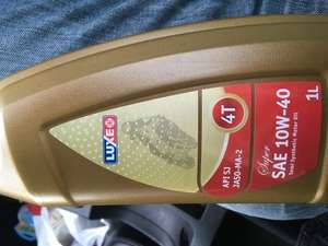 10w40 motorcycle oil 1 litre home bargains at Home Bargains for £1.99