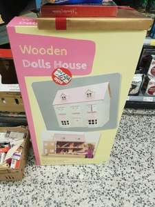 Wooden dolls house from £70 down to £35 in ASDA instore