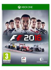 F1 2016 (Xbox One) £32.99 delivered @ Amazon