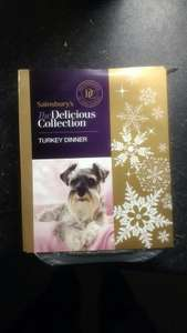sainsburys turkey dinner dog food - 10p!