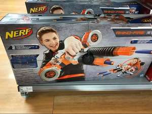 Nerf Rhino Fire gun - was £90 online, now £60 online - only £30 instore at Asda!!!