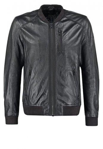 Mens Leather Bomber Jacket by Gipsy / 50% off @ Zalando - £75