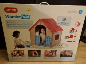Keter WonderFold folding play house £17.49 Morrisons instore (Felixstowe)
