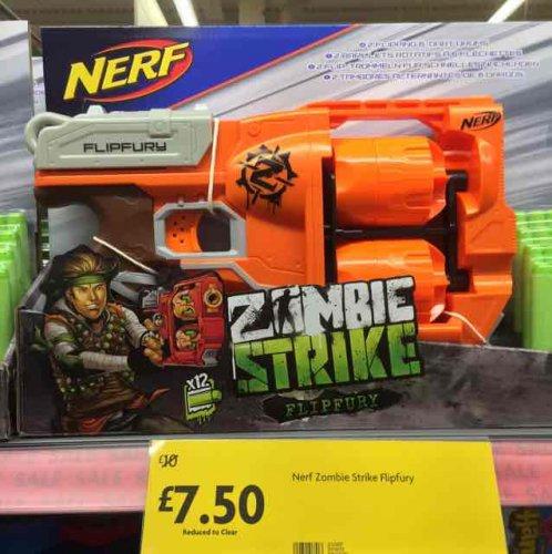 Nerf Zombie Flipfury - zombie stopping fun £7.50 instore @ Morrisons