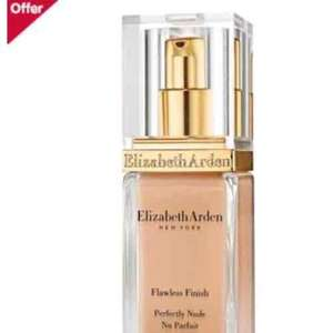 Elizabeth Arden Flawless Finish Perfectly Nude Makeup SPF15 half price @boots.com all shades £14.50 instead £29