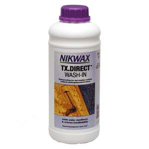 Nikwax TX. Direct Waterproofer 1litre £6 + £3.99 Del - £9.99 del @ Amazon(60% off)