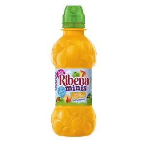 Ribena Minis 250ml bottled drink (Amazing Apple & Mango flavour)-6 for £1 at Heron Foods