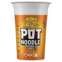 Pot Noodle King Original Curry 114G in Cooltrader Belle Vale, Liverpool instore for 50p. @ Cooltrader