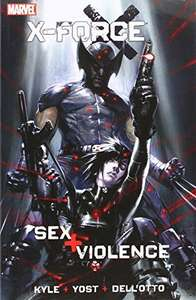 X-Force: Sex and Violence - Kindle & comiXology by Yost & Kyle £1.14 Amazon