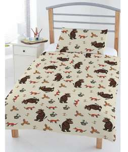 The Gruffalo Toddler Duvet Cover Set (was £22.99) Now £14.99 + Free C&C at Very