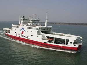 Red Funnel Car Ferry - Southampton to Isle of Wight Return - 20% OFF