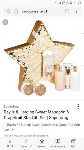 Baylis and harding sweet mandarin and grapefruit  star gift set reduced from £30 instore - £3.75 @ Tesco