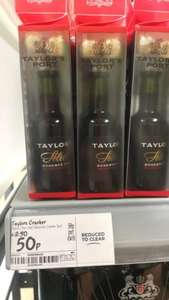 Taylors Port 50ml & Chocolates Gift Set - 50p at Asda Instore