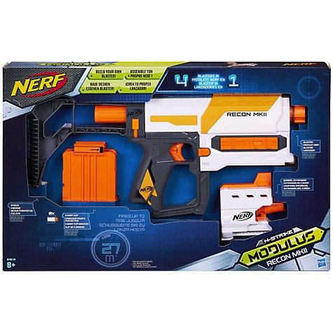 Nerf N-Strike Modulus Recon MKII Blaster £15 @ John Lewis (+£2 C&C or £3.50 Delivery)