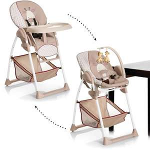 2 in 1 Hauck Sit'n Relax Highchair - Giraffe (was £120) now £90 at Asda George