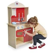 Kids Wooden Kitchen Play Set @ wilko online - £12