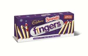 Cadbury snowy fingers double pack 62p at Tesco express