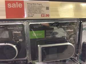 Energy meter £2.99 Clas Ohlson instore