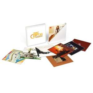 Eric Clapton - The Studio Album Collection - 8 Vinyl LP Boxset - £64.99 + £6.95 postage - £71.94 @ The Sound of Vinyl