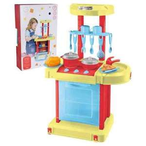 Tesco play and go kitchen - £3.25 instore