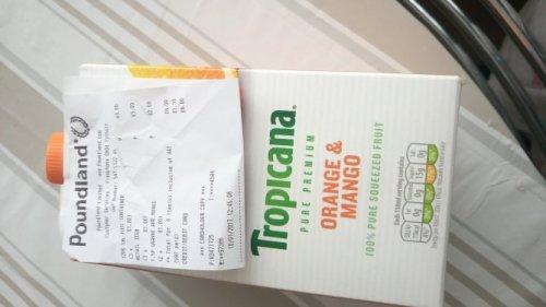 Tropicana 1.5 L for £1.00 @ Poundland