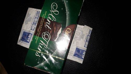Aldi Choceur Mint thins box 59p