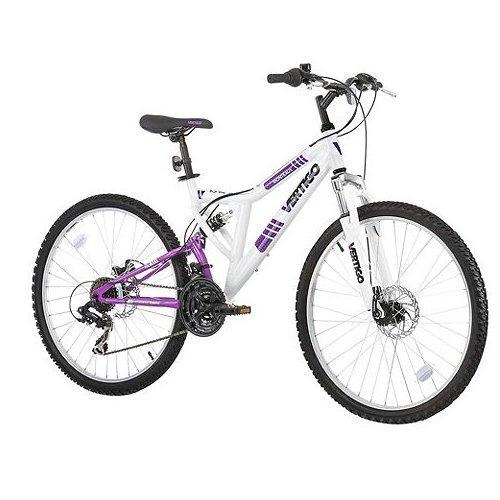 vertigo monteaux 24 dual suspension Mountain Bike £75 @ Tesco