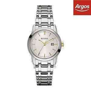 Ladies Bulova Watch £25.99 @Argos ebay