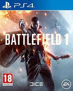 Battlefield 1 - PS4 £34 Amazon