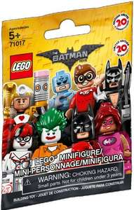 Lego 71017 The Batman Movie Minifigures £2.50 instore @ Asda