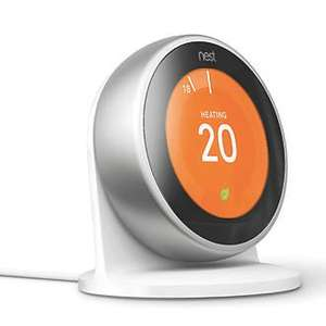 Nest 3rd Generation Heating & Water Thermostat with FREE Stand (RRP £29.99) £199.99 @ Screwfix