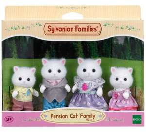 Sylvanian Families Persian Cat Family Set - was £17.99 now £11.39 @ Tesco (Free C&C) / Amazon (Prime) **Cheapest**