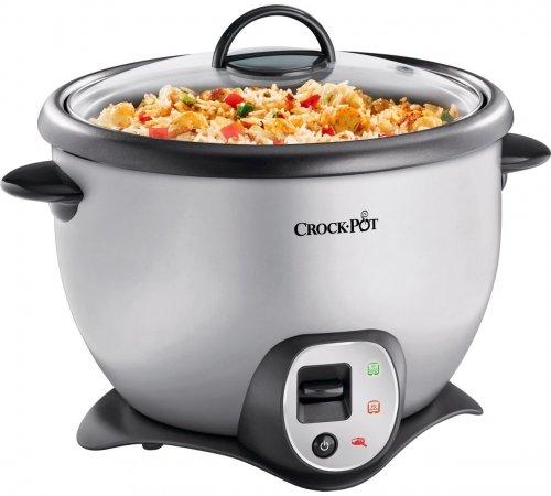 Crock-Pot CKCPRC6040-060 2.2L Saute Rice Cooker - Silver £29.99 @ Argos