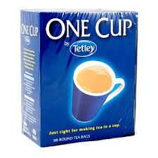 Tetley one cup 76 teabags for 99p in Home Bargains colchester