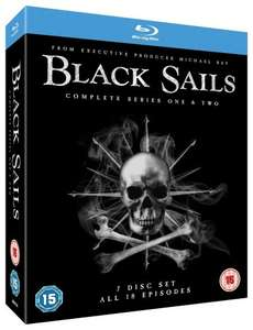 Black Sails Seasons 1 and 2 Blu-ray £9.99 (prime) Sold by Direct-Offers-UK-FBA and Fulfilled by Amazon. £11.98 non prime